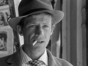 Jean Paul Belmondo in Breathless