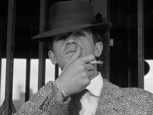 Jean-Paul Belmondo in Breathless