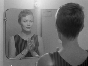 Jean Seberg Breathless stripes